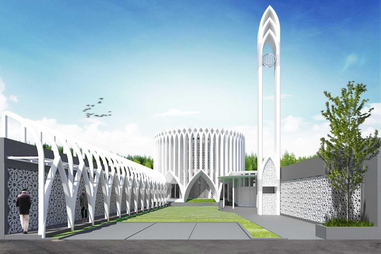 Mahastudio & Partner Masjid At Lolongok, Bogor Bogor, West Java, Indonesia Bogor, West Java, Indonesia Masjid-Lolongok-Siang Modern 30896