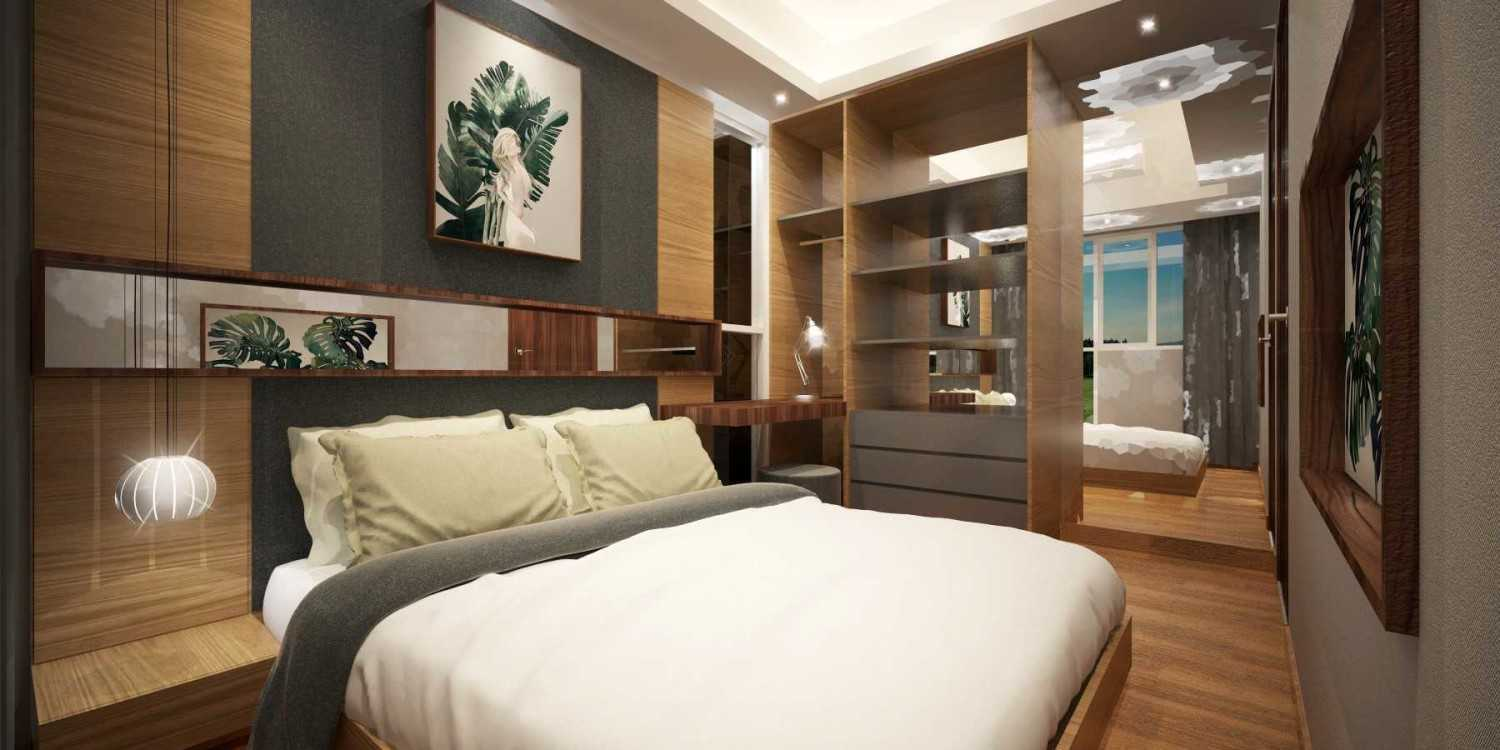 Mahastudio & Partner Show Unit Verdura Apartment Sentul, Babakan Madang, Bogor, West Java, Indonesia Sentul, Babakan Madang, Bogor, West Java, Indonesia Bedroom-2 Kontemporer 32502