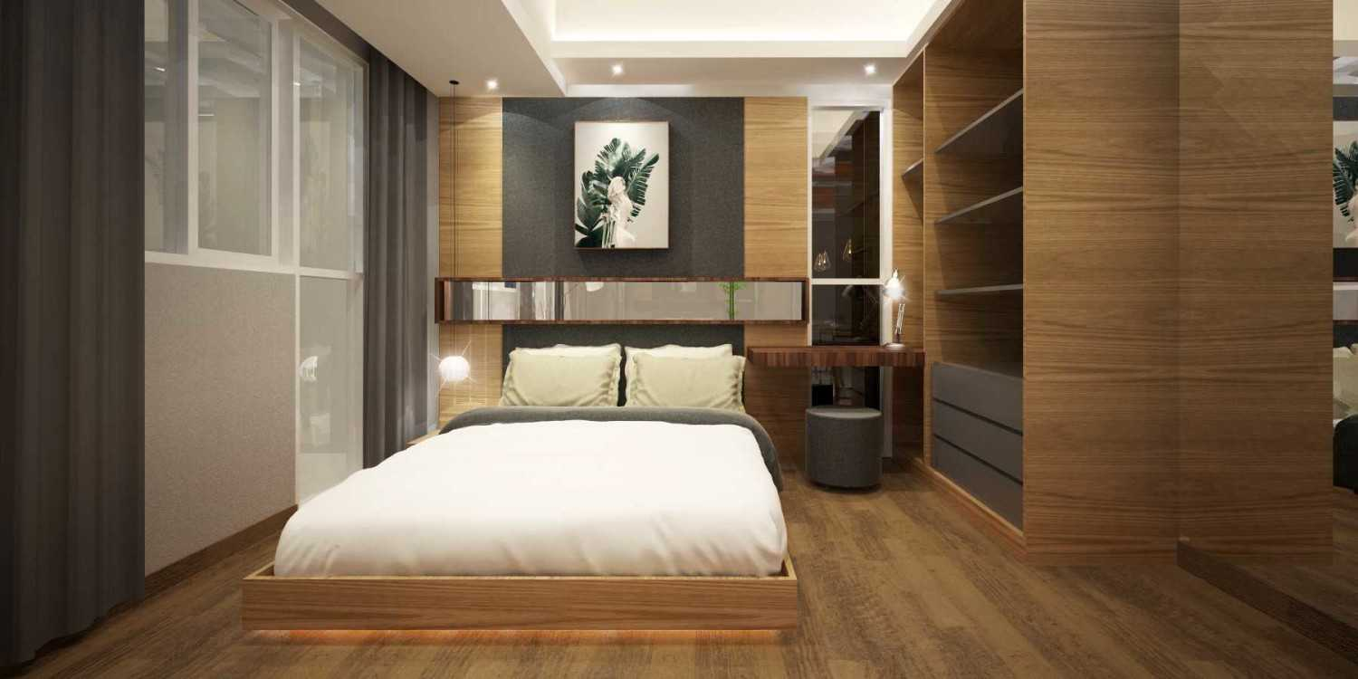 Mahastudio & Partner Show Unit Verdura Apartment Sentul, Babakan Madang, Bogor, West Java, Indonesia Sentul, Babakan Madang, Bogor, West Java, Indonesia Bedroom-3 Kontemporer 32504