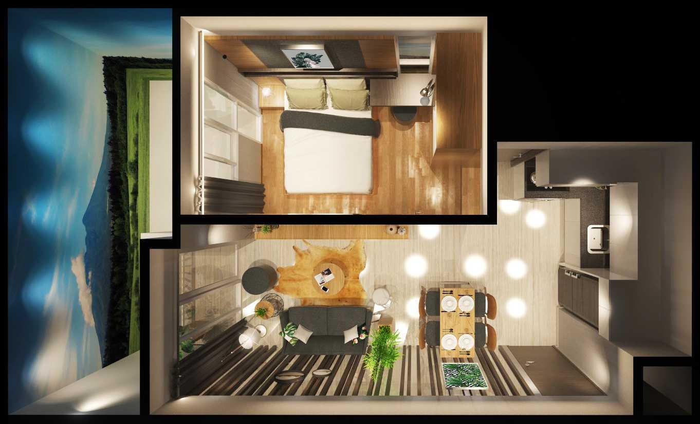 Mahastudio & Partner Show Unit Verdura Apartment Sentul, Babakan Madang, Bogor, West Java, Indonesia Sentul, Babakan Madang, Bogor, West Java, Indonesia Denah-Perspektif Kontemporer 32507