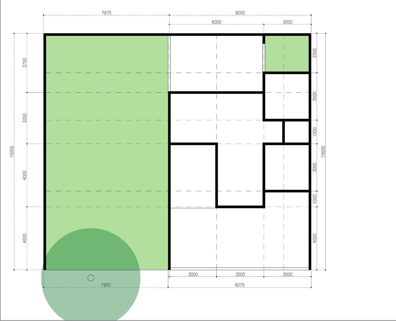 Mahastudio & Partner Renovasi Rumah Beiji Depok City, West Java, Indonesia Depok City, West Java, Indonesia Denah Eksisting Tropis 33342