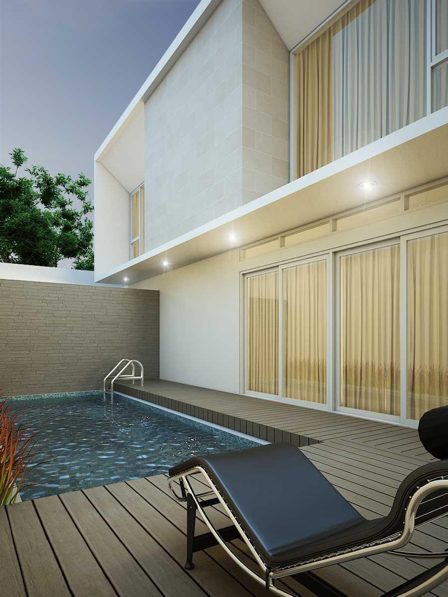 Rekabentuk Id Golf Island House Bandung, West Java Bandung, West Java Swimming Pool Area  26754