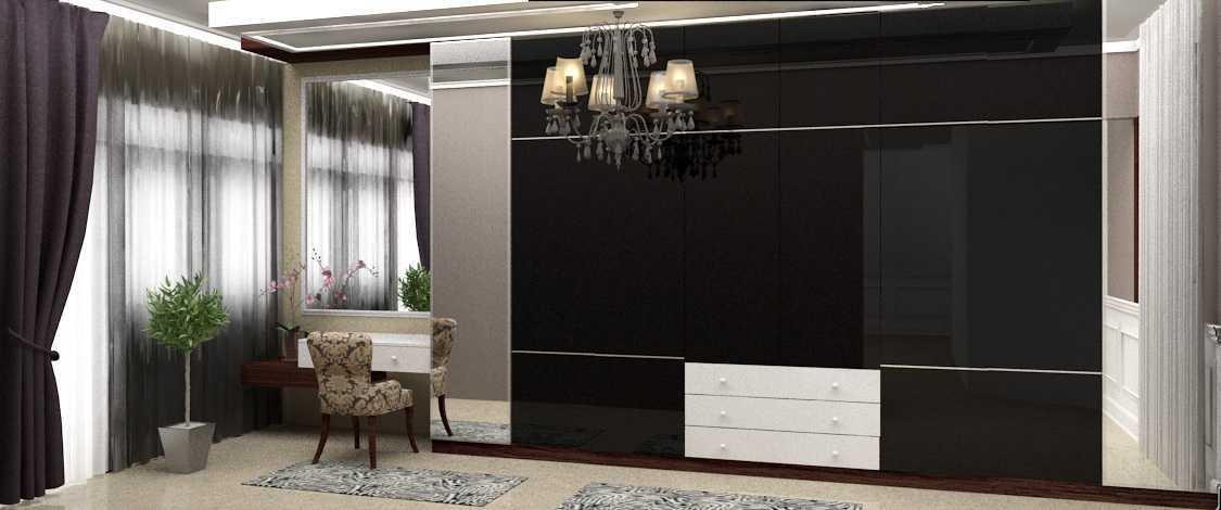 Rekabentuk Id H.a. House Jakarta Jakarta Wardrobe Kontemporer 26763