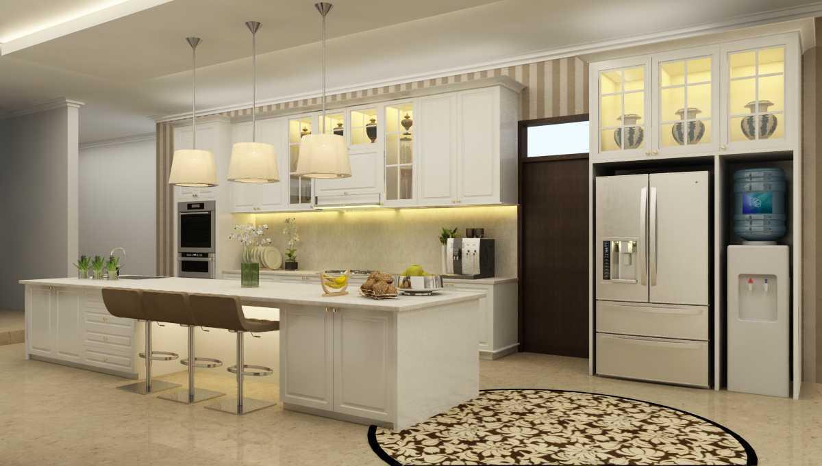 Rekabentuk Id H.a. House Jakarta Jakarta Pantry Kontemporer 26764