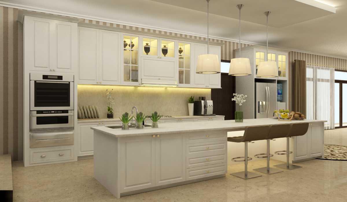 Rekabentuk Id H.a. House Jakarta Jakarta Pantry Kontemporer 26765