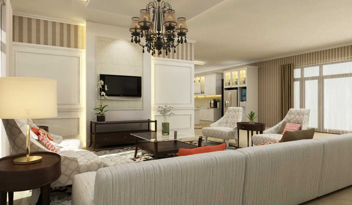 Rekabentuk Id H.a. House Jakarta Jakarta Living Room Kontemporer 26766