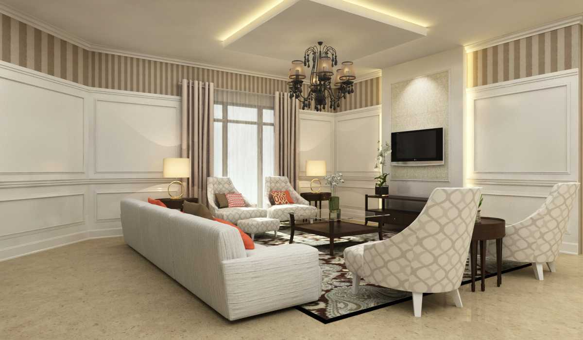 Rekabentuk Id H.a. House Jakarta Jakarta Living Room Kontemporer 26767