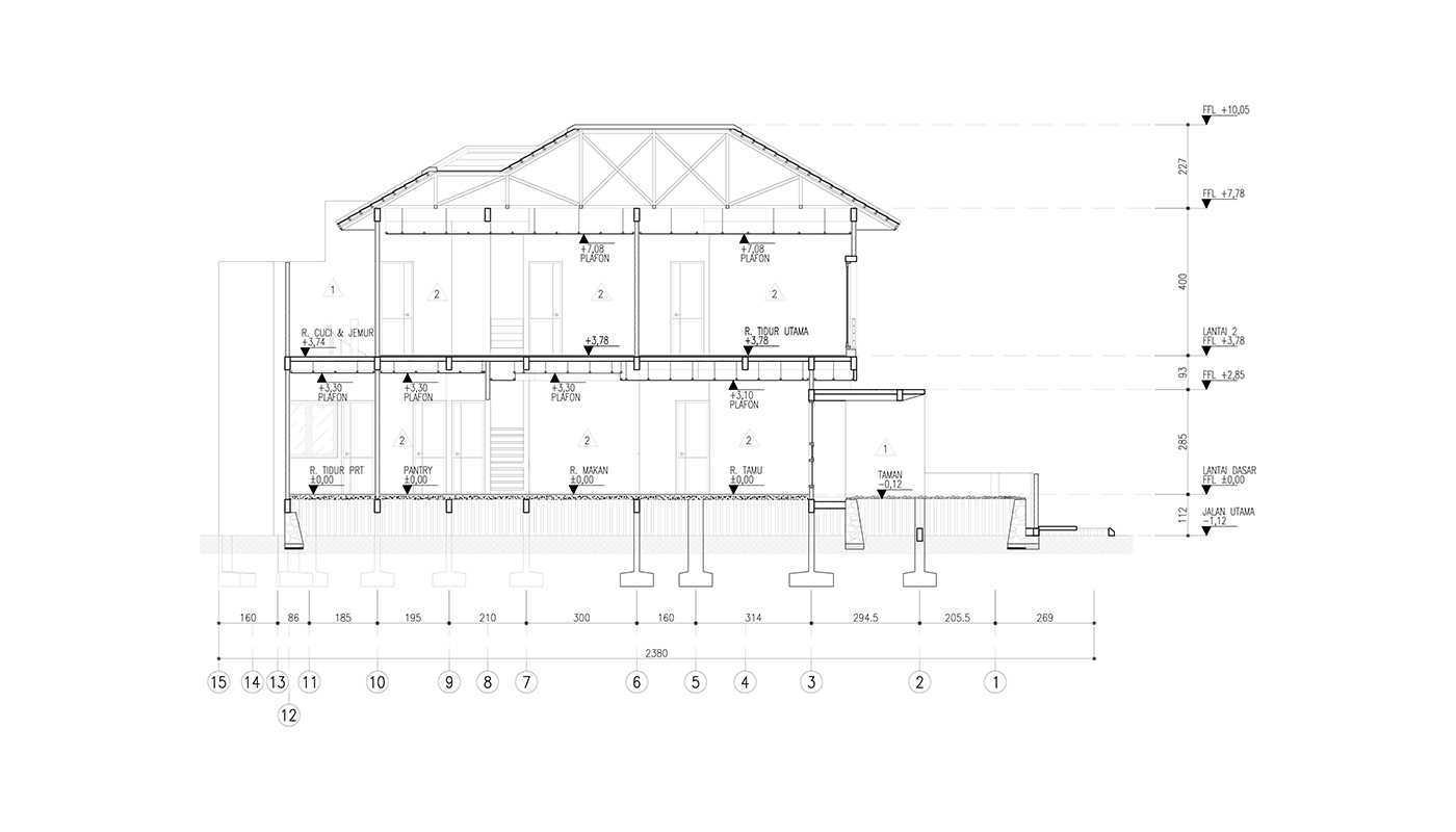 Rekabentuk Id S.t. House Kota Bandung, Jawa Barat, Indonesia Kota Bandung, Jawa Barat, Indonesia Section Modern 33550