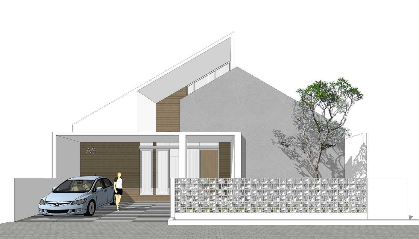 Rekabentuk Id E.j. House Cimanggis, Kota Depok, Jawa Barat, Indonesia Cimanggis, Kota Depok, Jawa Barat, Indonesia E.j. House - Front View Minimalist 44348