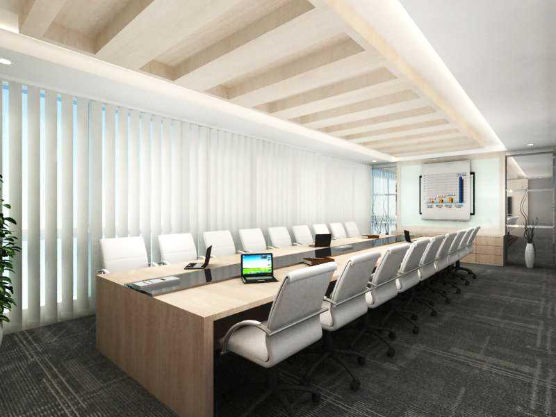 Foto inspirasi ide desain ruang meeting kontemporer Meeting room oleh Wawan setiawan di Arsitag
