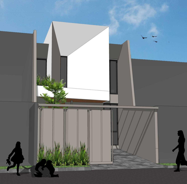 "Pt. Modula ""tiga"" House Jakarta Jakarta Facade Modern 26858"