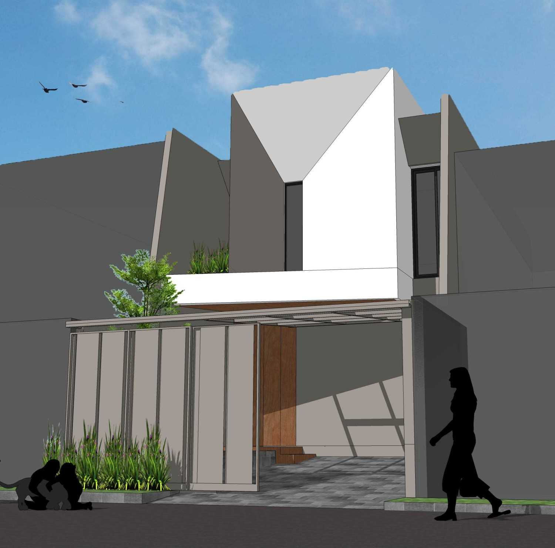 "Pt. Modula ""tiga"" House Jakarta Jakarta Facade Modern 26859"