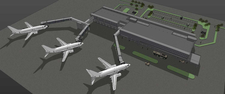Pt. Modula Radin Inten Lampung Airport Lampung Lampung Perspective Modern 26869