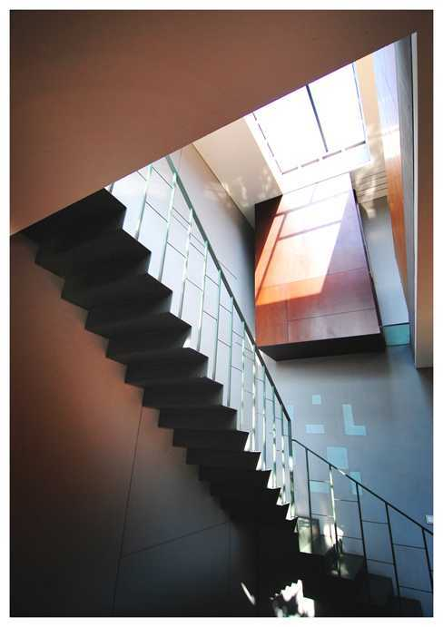 Imron Yusuf-Ifd Architects Slim House South Jakarta, South Jakarta City, Jakarta, Indonesia Cipete, South Jakarta Stairs Tropis 26548