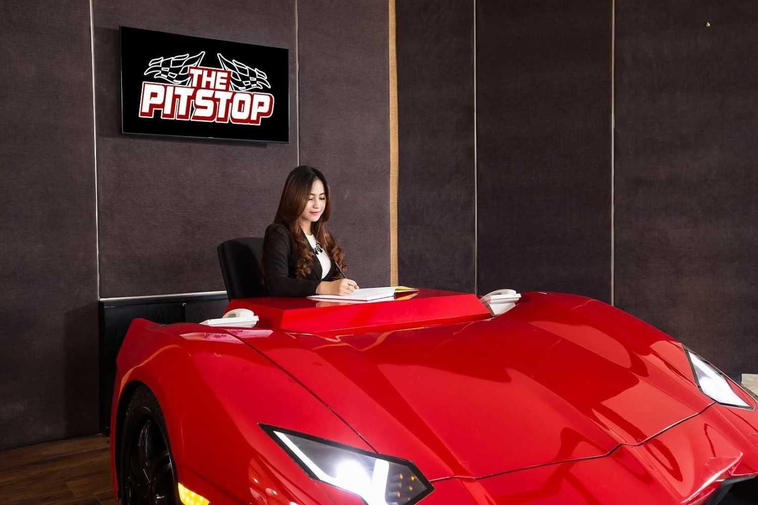Aqustica The Pitstop Sportscar Showroom Palembang, Indonesia Palembang, Indonesia Pitstop-Interior-By-Lconcept-Photography-08978803888-24-Resize  29618