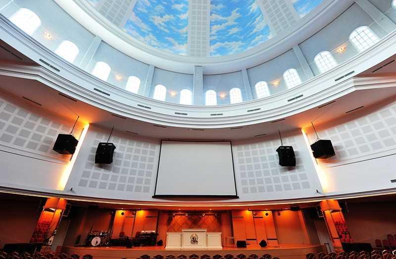 Project Gereja Tiberias Kelapa Gading Desain Arsitek Oleh
