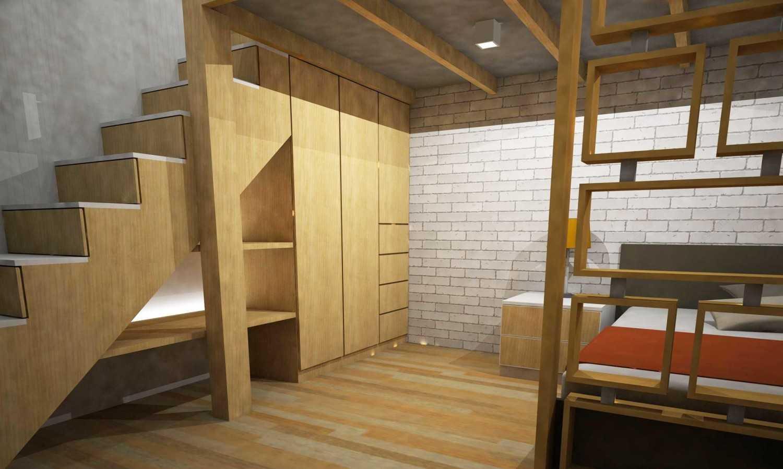 Wood Me Up Studio Semi Industrial-Minimalist Mezzanine Bedroom Bandung Bandung Upstair-Mezzanine-2  28411