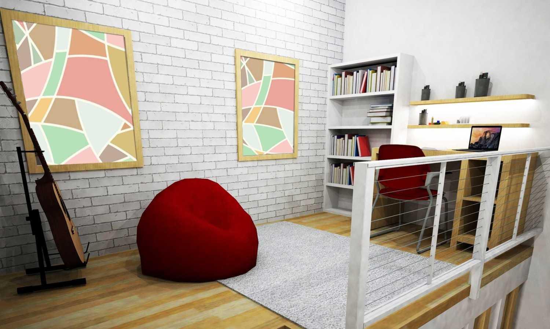 Wood Me Up Studio Semi Industrial-Minimalist Mezzanine Bedroom Bandung Bandung Upstair-Mezzanine  28412