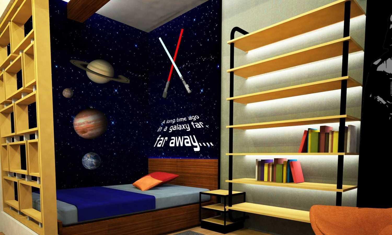 Wood Me Up Studio Star Wars Themed Bedroom Bandung Bandung Star-Wars-3 Kontemporer 28917