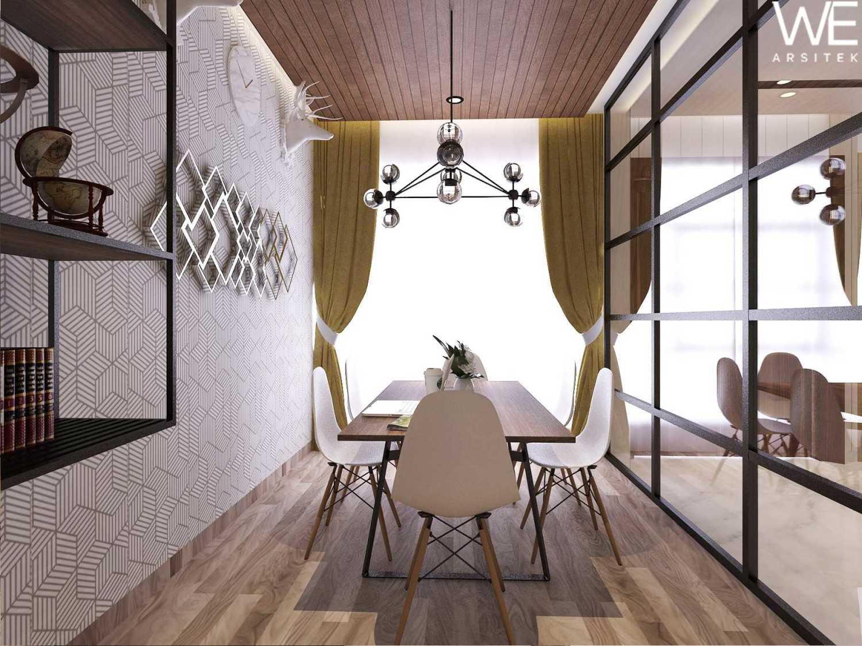 We Arsitek Li Residence - Contemporary Kota Medan, Sumatera Utara, Indonesia Kota Medan, Sumatera Utara, Indonesia Meeting Room  45715