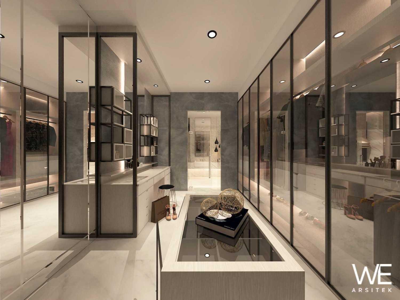 We Arsitek Li Residence - Contemporary Kota Medan, Sumatera Utara, Indonesia Kota Medan, Sumatera Utara, Indonesia Walk-In Closet  45718