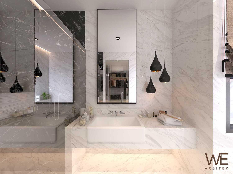 We Arsitek Li Residence - Contemporary Kota Medan, Sumatera Utara, Indonesia Kota Medan, Sumatera Utara, Indonesia Westafel Area  45719