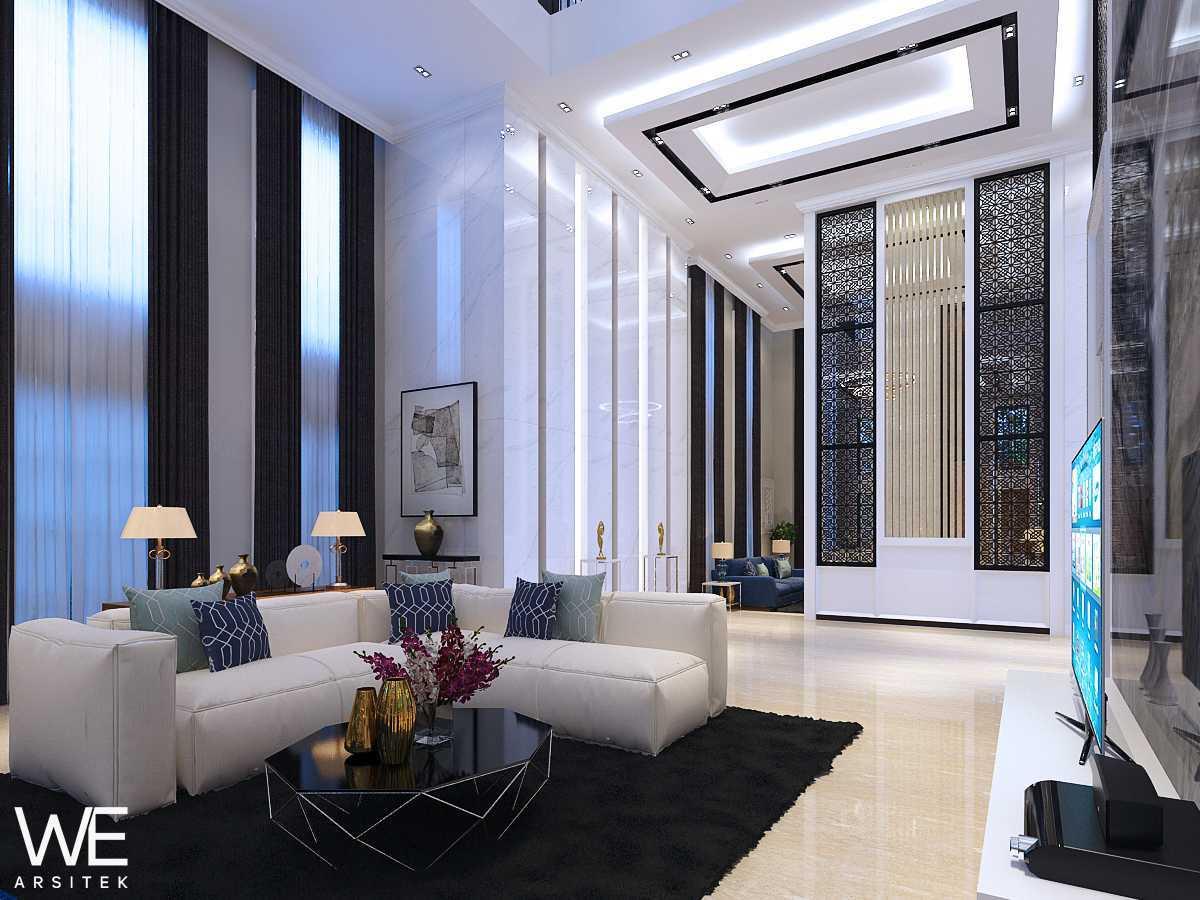We Arsitek Grand City Residence - Tropical Contemporary Medan, Kota Medan, Sumatera Utara, Indonesia Medan, Kota Medan, Sumatera Utara, Indonesia Living Room  45735