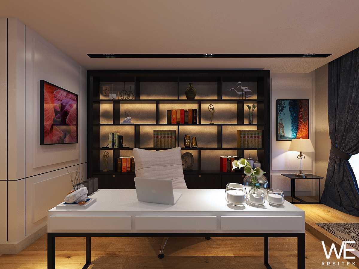 We Arsitek Grand City Residence - Tropical Contemporary Medan, Kota Medan, Sumatera Utara, Indonesia Medan, Kota Medan, Sumatera Utara, Indonesia Office Room  45739