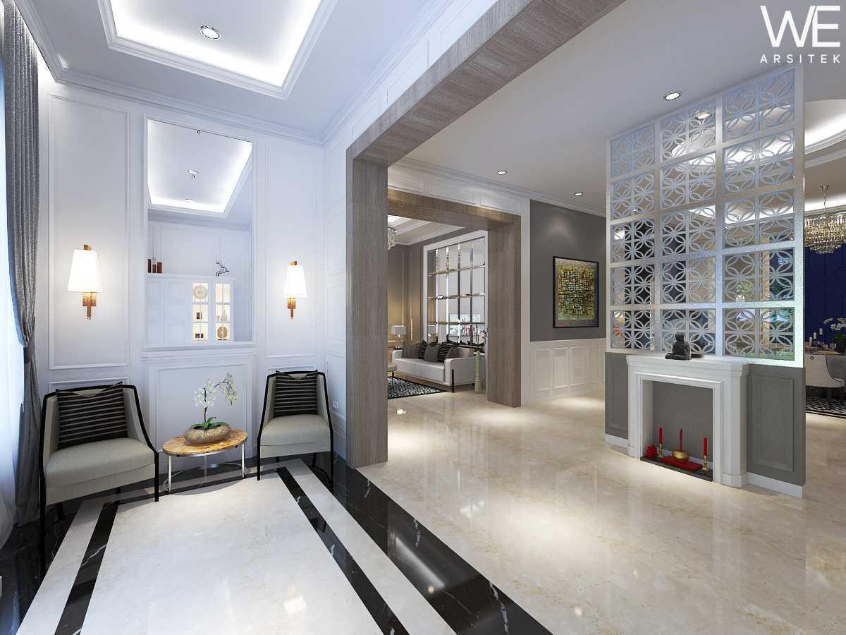 We Arsitek Jh's Residence - Classic Style Medan, Kota Medan, Sumatera Utara, Indonesia Medan, Kota Medan, Sumatera Utara, Indonesia Foyer Industrial 45808