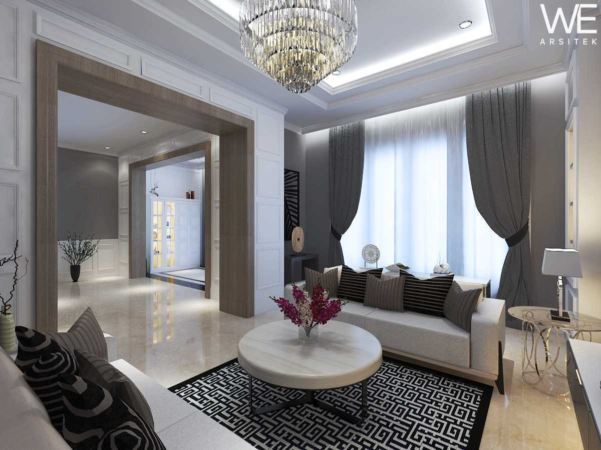 We Arsitek Jh's Residence - Classic Style Medan, Kota Medan, Sumatera Utara, Indonesia Medan, Kota Medan, Sumatera Utara, Indonesia Living Room Klasik 45811
