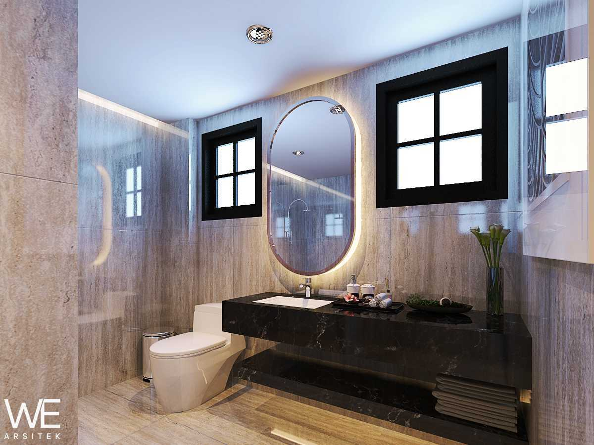 We Arsitek Wh's Residence - Contemporary Style Medan, Kota Medan, Sumatera Utara, Indonesia Medan, Kota Medan, Sumatera Utara, Indonesia Bathroom  45820