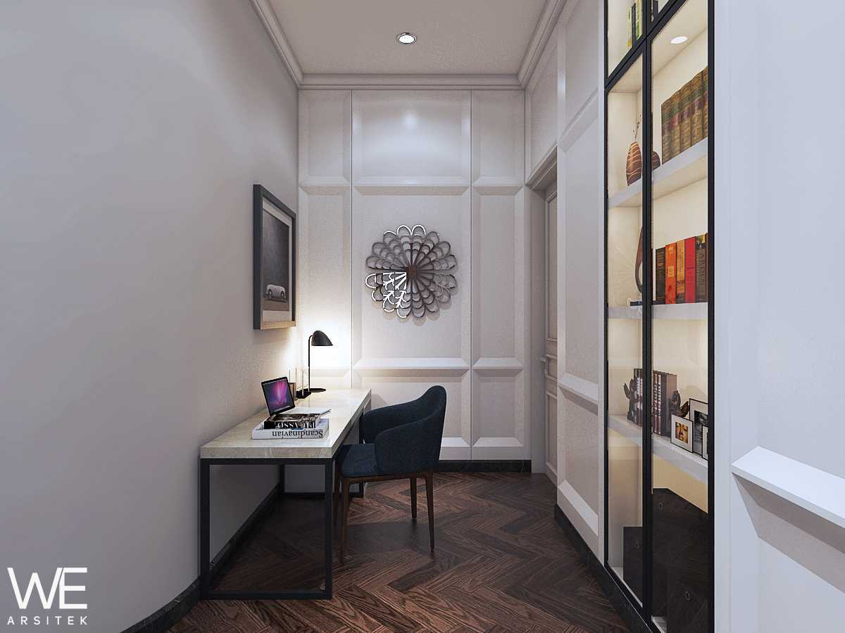 We Arsitek Wh's Residence - Contemporary Style Medan, Kota Medan, Sumatera Utara, Indonesia Medan, Kota Medan, Sumatera Utara, Indonesia Study Room  45825