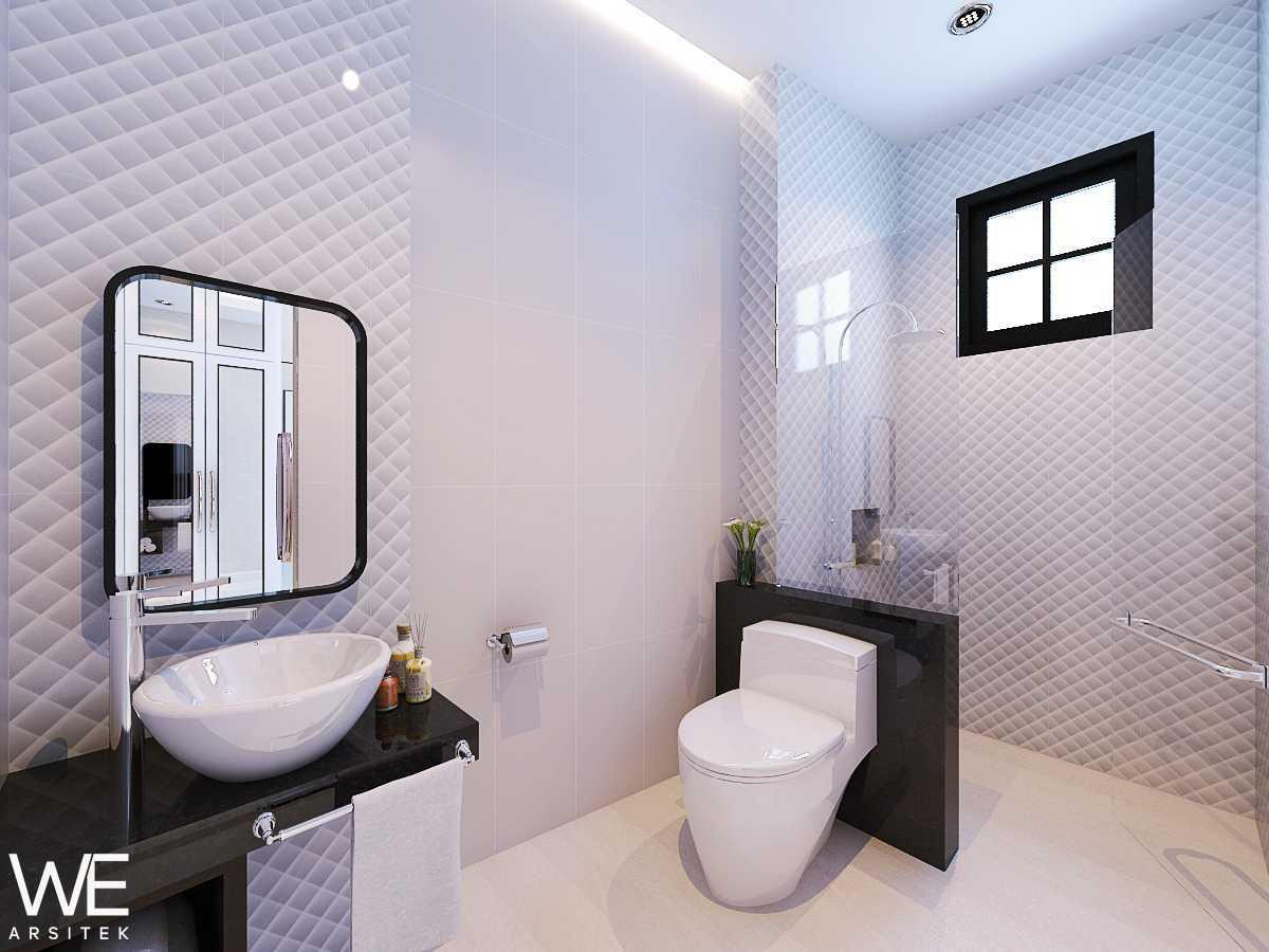 We Arsitek Wh's Residence - Contemporary Style Medan, Kota Medan, Sumatera Utara, Indonesia Medan, Kota Medan, Sumatera Utara, Indonesia Bathroom  45835