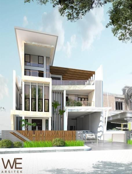 We Arsitek Lim Residence Medan Medan Front View-Exterior Kontemporer 5044
