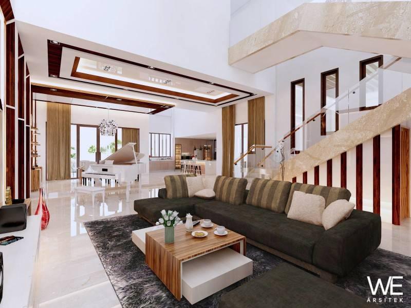 We Arsitek Lim Residence Medan Medan Lt-1-V2-Ruang-Keluarga Kontemporer 5045