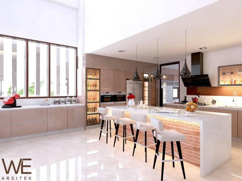 We Arsitek Lim Residence Medan Medan Lt-1-Alt-1-Dapur Kontemporer 5046