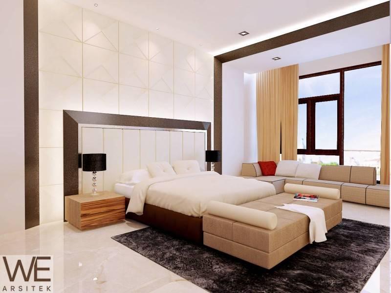We Arsitek Lim Residence Medan Medan Lt-2-Master-Room Kontemporer 5047