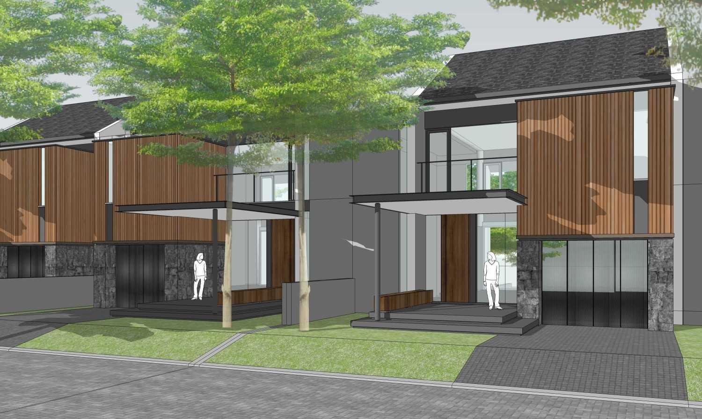 Fabdesain C Townhouse Bandung, Kota Bandung, Jawa Barat, Indonesia Bandung, Kota Bandung, Jawa Barat, Indonesia Front View Tropical,tropis,modern 39018