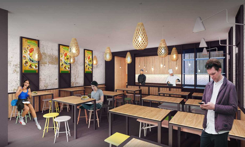 Fabdesain S_Cafe Jakarta, Daerah Khusus Ibukota Jakarta, Indonesia Jakarta, Daerah Khusus Ibukota Jakarta, Indonesia Seating Area Interior View Modern 40513