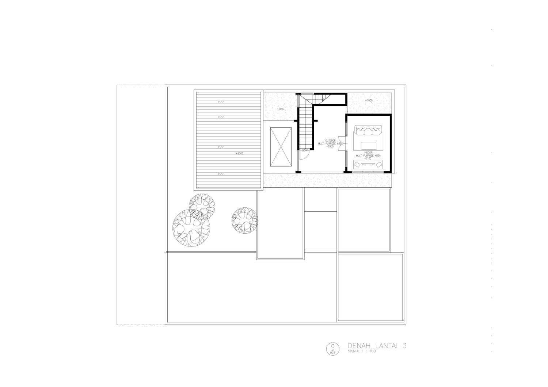 Amorta Design Studio Rumah F Manokwari Manokwari Denah-Rumah-F-03  29374