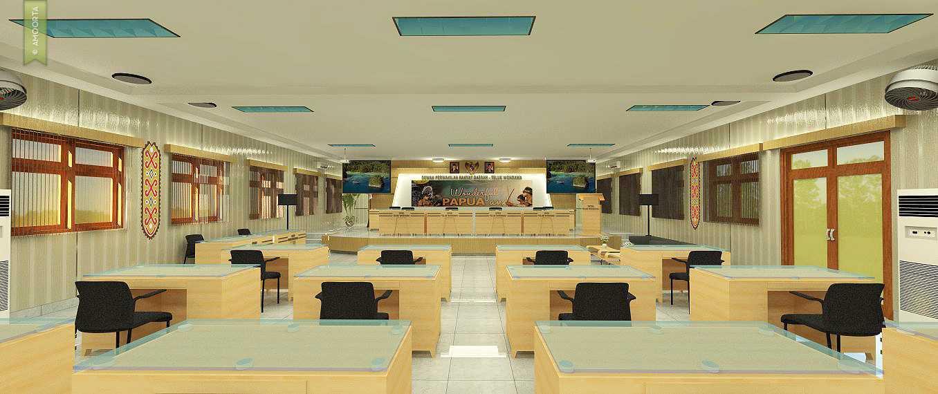 Amorta Design Studio Interior Ruang Rapat Dprd Teluk Wondama Teluk Wondama, Papua Teluk Wondama, Papua 20140413-Ruang-Rapat-Dprd-Teluk-Wondama-01  29386