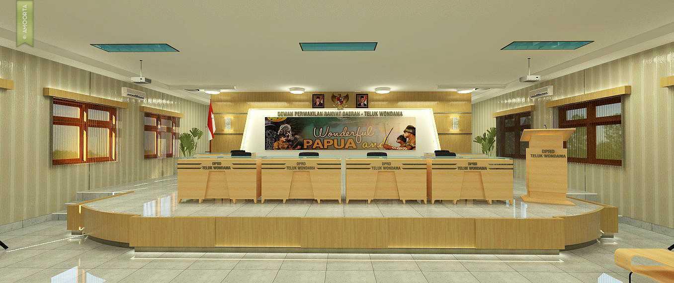 Amorta Design Studio Interior Ruang Rapat Dprd Teluk Wondama Teluk Wondama, Papua Teluk Wondama, Papua 20140413-Ruang-Rapat-Dprd-Teluk-Wondama-02  29388