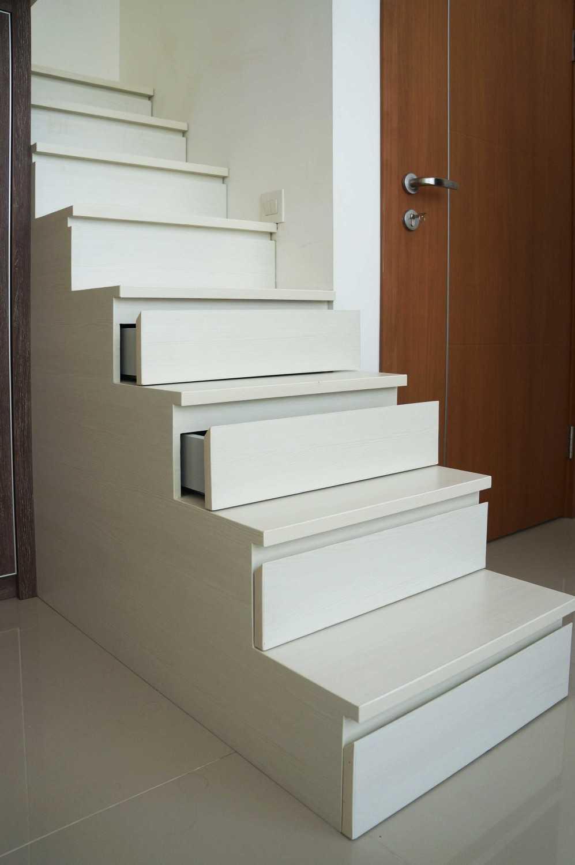 Foto inspirasi ide desain rumah kontemporer Graha-natura-tirza-kid-bedroom-2 oleh KOMA di Arsitag