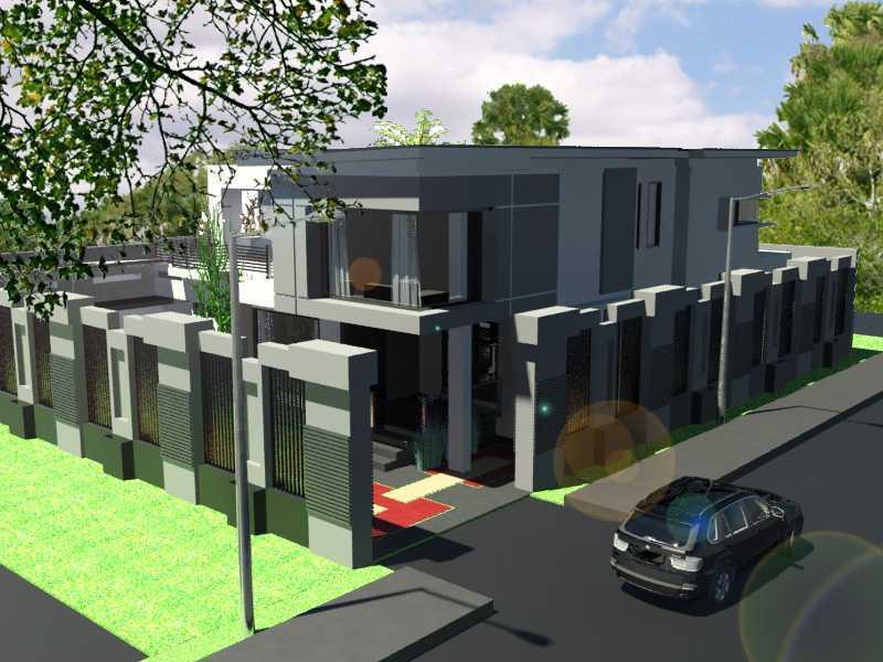 Ade Heru Wirasno Bens Residence Bandar Lampung Bandar Lampung 2-View-Siang1-Copy Modern 30085