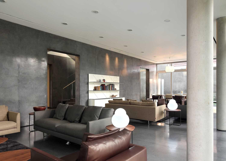 Irianto Purnomo Hadi Swiss Embassy  Jakarta, Indonesia Living Area Kontemporer 30265