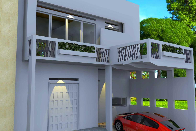 Foto inspirasi ide desain exterior asian Railling balcony oleh Smarchdesign12 di Arsitag