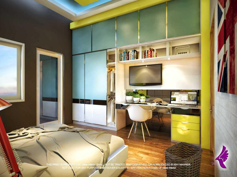 Foto inspirasi ide desain kamar tidur anak kontemporer R-kamar-anak-cowok-1 oleh Andreas Fajar Ismunanto di Arsitag