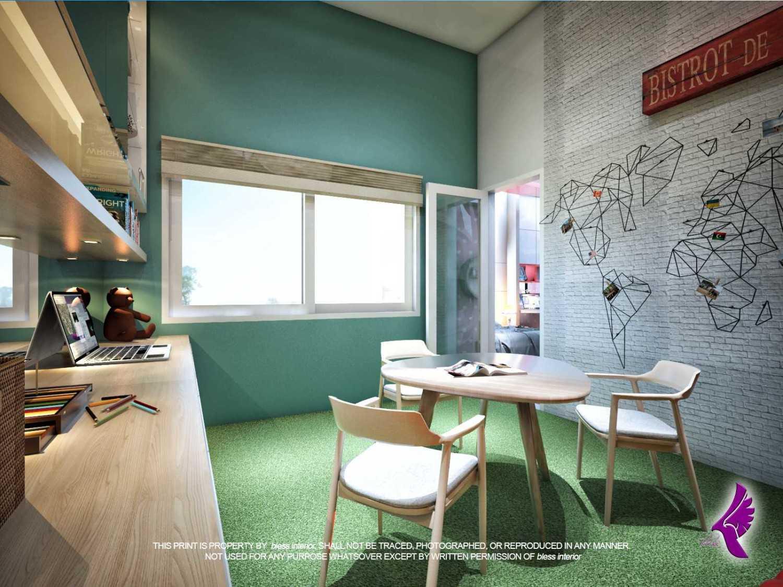 Foto inspirasi ide desain ruang belajar kontemporer R-belajar-1 oleh Andreas Fajar Ismunanto di Arsitag