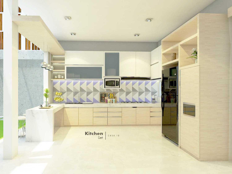 Casa.id Architecture & Design Dyg01 Pekanbaru, Kota Pekanbaru, Riau, Indonesia Pekanbaru, Kota Pekanbaru, Riau, Indonesia Kitchen Room Contemporary 40567