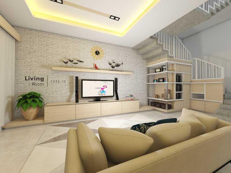 Casa.id Architecture & Design Dyg01 Pekanbaru, Kota Pekanbaru, Riau, Indonesia Pekanbaru, Kota Pekanbaru, Riau, Indonesia Family Room Contemporary 40568